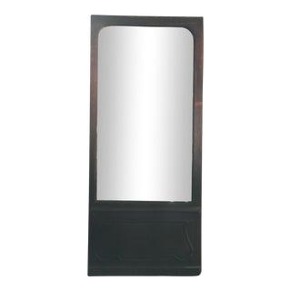 Belgian Wooden Door Mirror For Sale