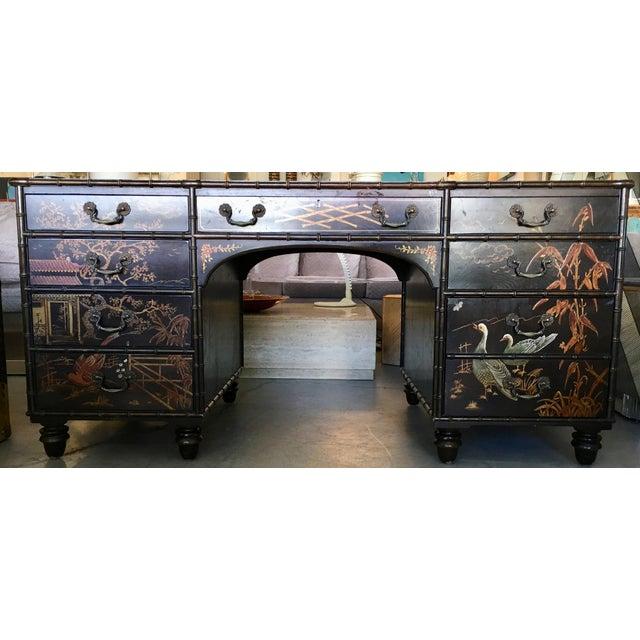 Henredon Folio 10 Asian Style Desk For Sale - Image 10 of 10