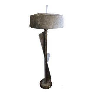 Mid Century Moss Atomic Floor Lamp For Sale