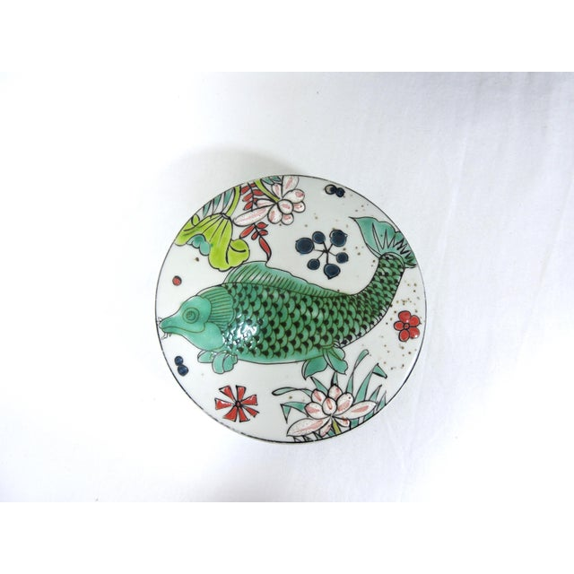 Early 20th Century 'Kangxi' Chinese Lotus & Fish Ginger Jar For Sale In Tampa - Image 6 of 12