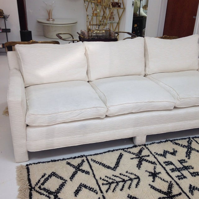 Mid Century Sofa With New Upoholstery - Image 3 of 6
