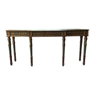 Vintage Louis XVI Style Italian Console Table