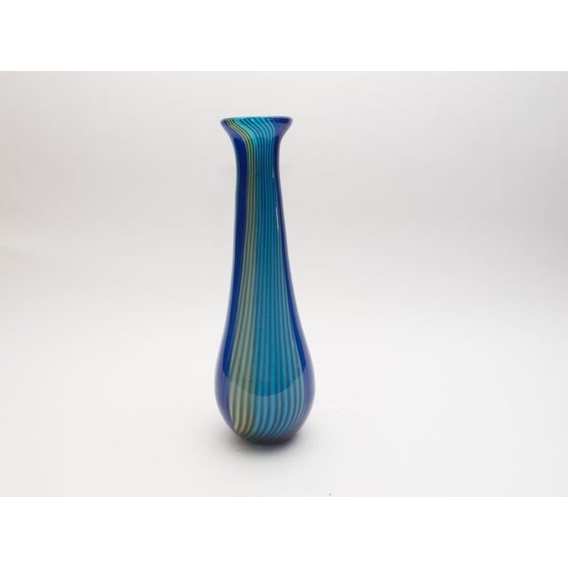 Vintage Italian Art Glass Vase 1950s - Image 2 of 4