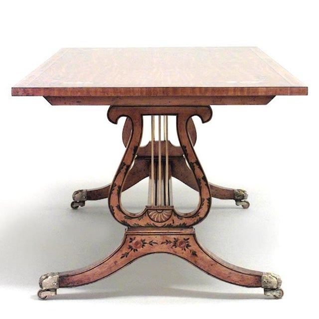 Mid 20th Century English Hepplewhite Style Coffee Table For Sale - Image 5 of 5