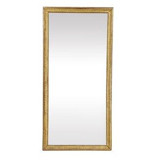 Louis XVI Giltwood Mirror For Sale