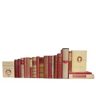 Ruby & Flax Classics Book Set, S/20 For Sale