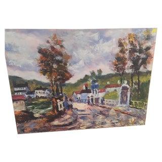 Summer Landscape Oil Panting For Sale
