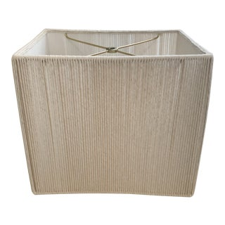 Modern Handmade Natural String Lampshade For Sale