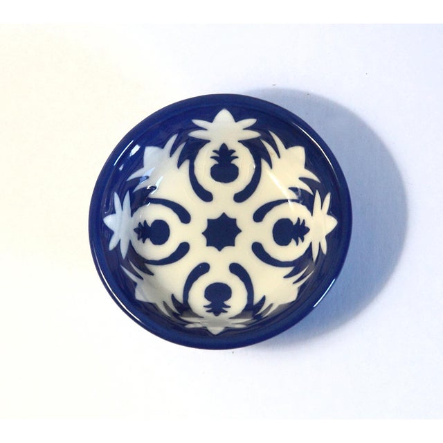 Handmade Ceramic Pineapple Motif Bowl - Image 2 of 5