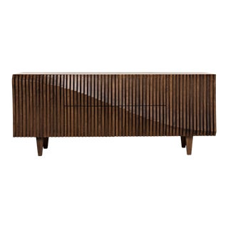 Jin-Ho Dark Walnut Sideboard For Sale