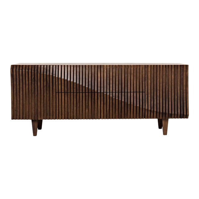 Jin-Ho Dark Walnut Sideboard For Sale