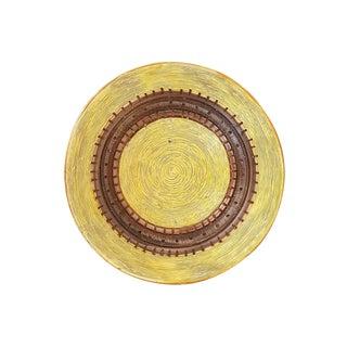 Mid-Century Yellow Bitossi Fruit Bowl For Sale