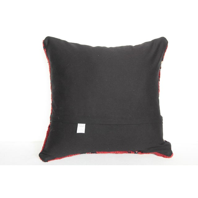 Boho Chic Carpet Pillow For Sale - Image 10 of 11