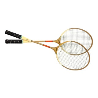Vintage Badminton Rackets - Set of 2
