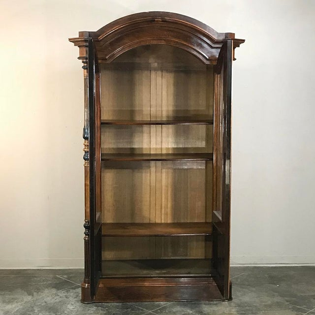 Brown 19th Century French Louis Philippe Rosewood Bookcase For Sale - Image 8 of 12