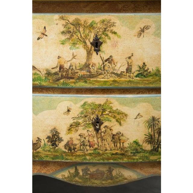 Italian 19th Century Venetian Laca Povera Commode For Sale - Image 3 of 9
