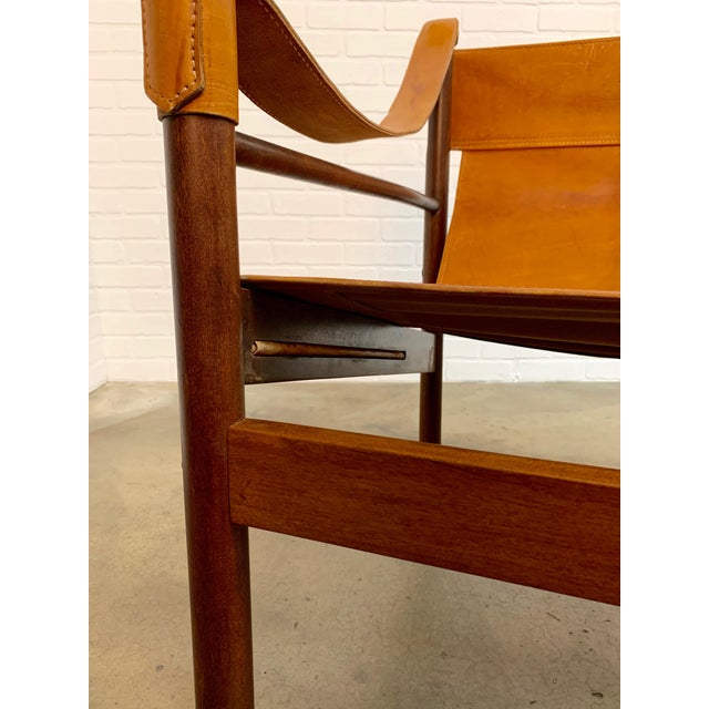 Abel Gonzalez Safari Sling Lounge Chairs - a Pair For Sale - Image 10 of 13