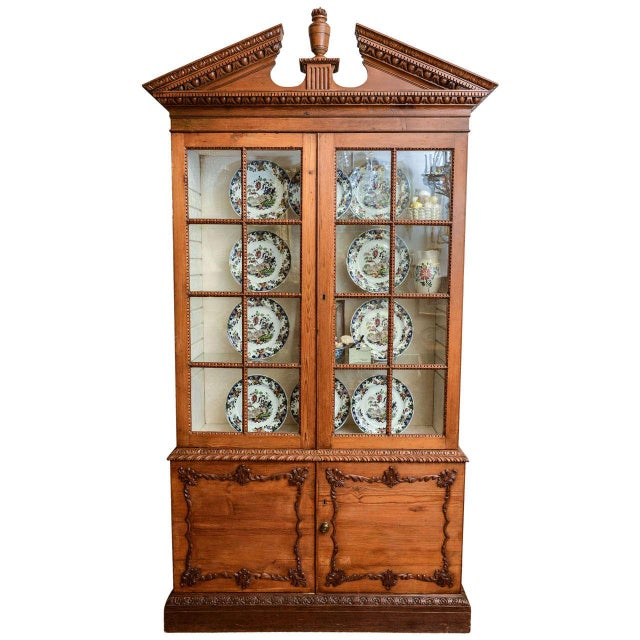 19th Century French Neoclassical Cabinet For Sale - Image 11 of 11