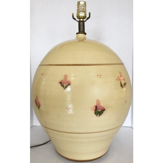 Italian Large Ceramic Table Lamp - Image 2 of 7