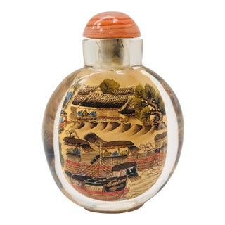 Chinese Painted Snuff Bottle For Sale