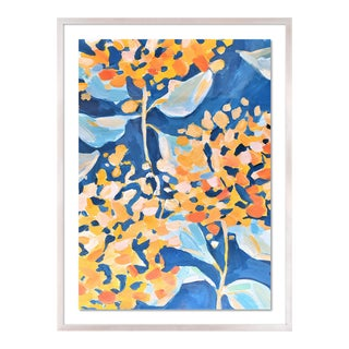 Willow by Lulu DK in White Wash Framed Paper, Small Art Print For Sale