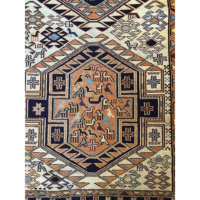 Ardibal, Iran. Long 1970s Vintage Hand-Knotted Persian Runner (2′6″ × 9′8″) For Sale In Seattle - Image 6 of 7