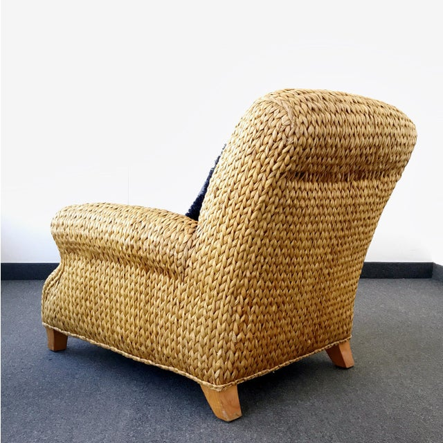 Asian Ralph Lauren Hurley Club Chair For Sale - Image 3 of 13