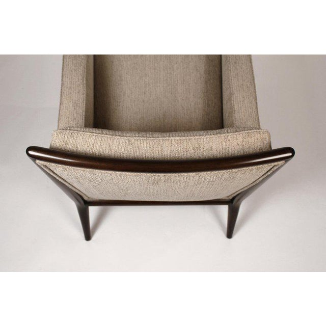Pair of Classic Lounge Chairs by t.h. Robsjohn-Gibbings For Sale In Dallas - Image 6 of 9