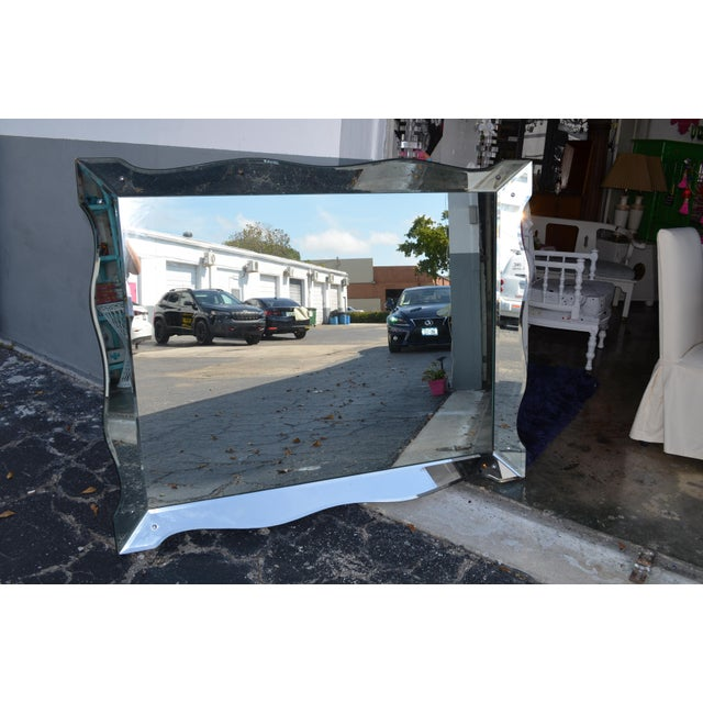 Scalloped Venetian Wall Mirror For Sale - Image 13 of 13