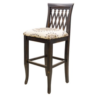 Emerson Lattice Back Counter Stool