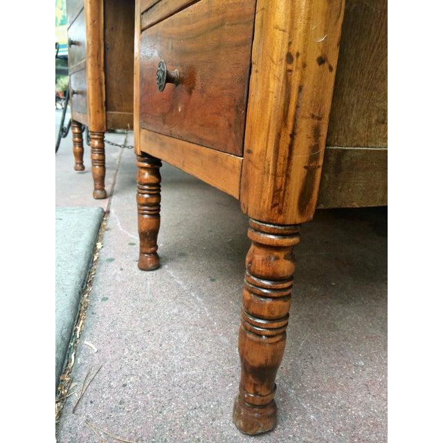 Arts & Crafts Slate-Top Wood Desk For Sale - Image 7 of 11