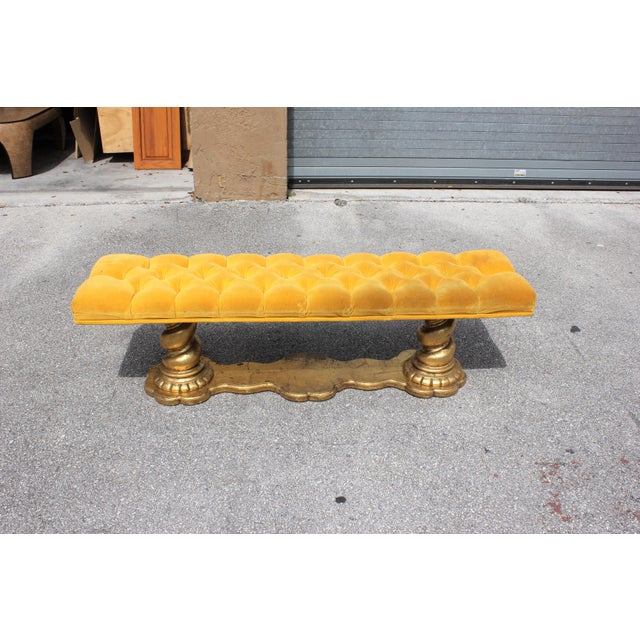 1900s Vintage French Louis XIII Barley Twist Bench For Sale - Image 13 of 13