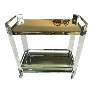 Contemporary Mitchell Gold Melrose Bar Cart For Sale