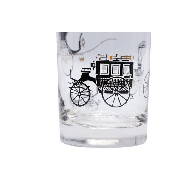 Libbey Glass Co. Mid Century Glass Tumblers - Set of 4 For Sale - Image 4 of 5