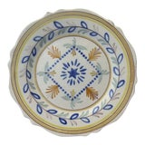 Image of 19th Century French Faience Plate For Sale