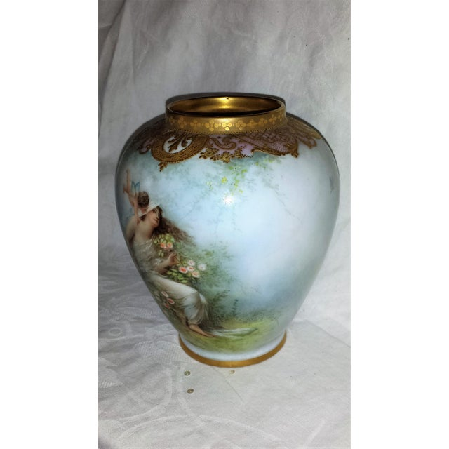 Antique French Figural Gilt Vase - Image 10 of 10