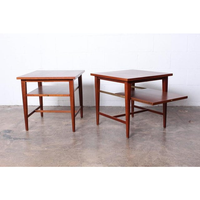 1950s Pair of End Tables by Paul McCobb for Calvin For Sale - Image 5 of 10