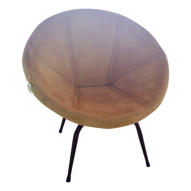 Danish Modern Saucer Chair - Image 1 of 5