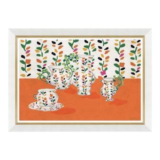 """""""Izzie Vase"""" By Dana Gibson, Framed Art Print For Sale"""