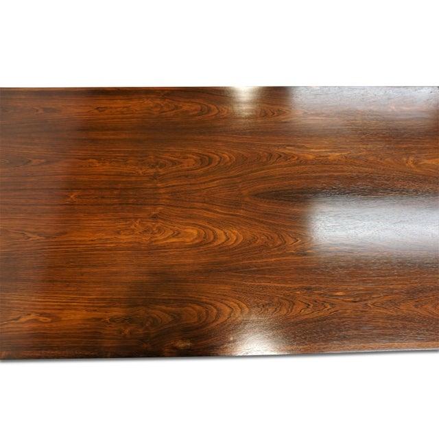 Brown Original Danish Modern Peter Hvidt & Orla Mølgaard-Nielsen Desk For Sale - Image 8 of 12