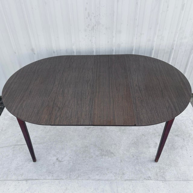 Mid-Century Modern Dining Set With Five Chairs For Sale - Image 4 of 13