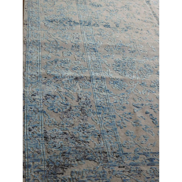 Hand Knotted Indian Rug - 8′ × 10′ - Image 3 of 11