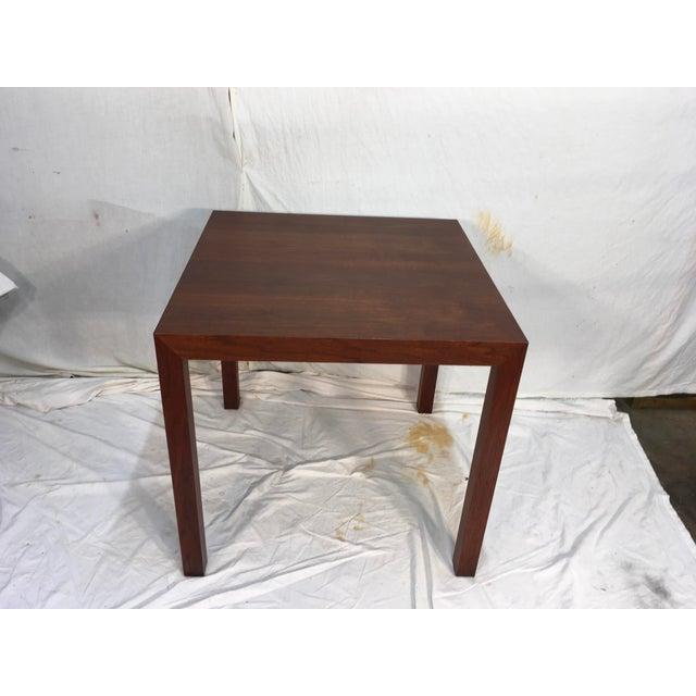 Edward Wormley Walnut Side Table - Image 3 of 11