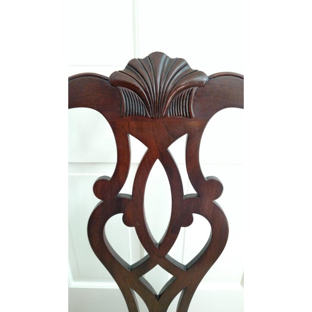 Stickley Mahogany Dining Chair Set - 8 - Image 8 of 9