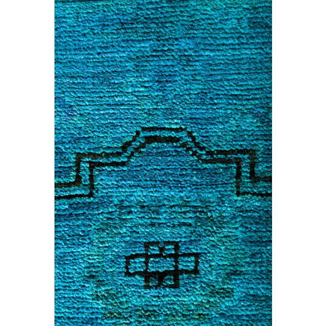 """Vibrance Hand Knotted Runner Rug - 2' 6"""" x 6' 0"""" - Image 3 of 4"""