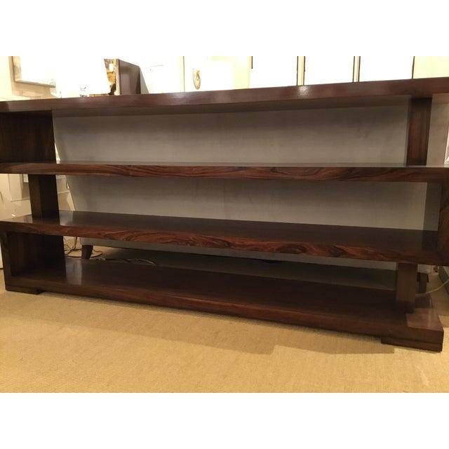 Brown John Richard Bolton Mahogany Bookcase For Sale - Image 8 of 9