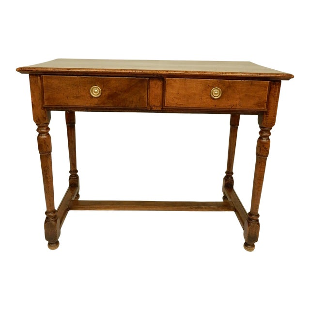 Early 19th Century Italian Walnut Side Table/Console For Sale