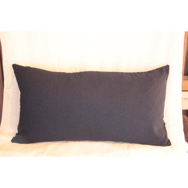 Sunburst Blue Indigo Pillow - Image 3 of 3
