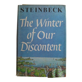 Vintage Mid-Century John Steinbeck The Winter of Our Discontent by First Edition Book For Sale