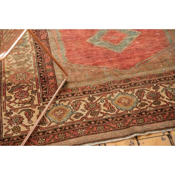 """Textile Vintage Distressed Malayer Rug - 5' X 7'7"""" For Sale - Image 7 of 13"""